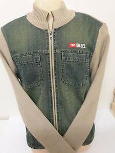Diesel zip up Jacket. Size L