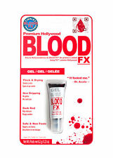 Tinsley transferencias Sangre Falsa Fx Gel Rojo Oscuro Halloween Gore recortes Raspones Make Up