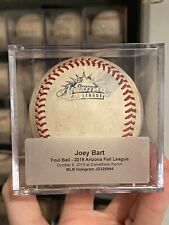 San Francisco Giants - Joey Bart Game Used Hit Ball 2019 Arizona Fall League