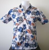 Men's Slim Fit Shirt Hawaiin Shirt Casual Tops Shirt  ,size M chest 38 inch