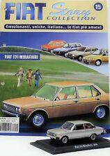 MODELLINO AUTO FIAT 131 NOREV 1:43 DIECAST CAR MODEL MINIATURE AUTOMODELLI USATI