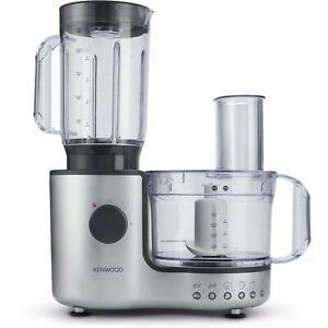 Kenwood FP195A MultiPro Food Processor & Blender - Silver