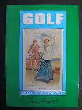 *NEW* REFERENCE BOOK - GOLF ON OLD PICTURE POSTCARDS