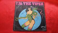 DISCO 45 giri  - LUCRETHIA LIPS - I' M THE VIPER -  1977   FUNKY