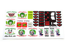 CUSTOM STICKERS for Lego 7888 The Tumbler Joker's Ice Cream Surprise, BUILDS,Etc