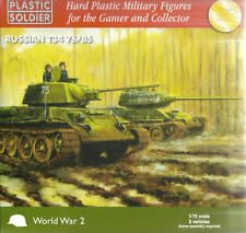 Plastic Soldier 1/72 T-34/76 or T-34/85 (3 Fast Assembly Tanks)