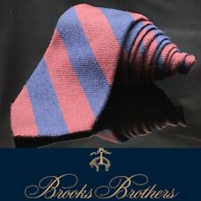 Brooks Brothers Blue Multi Color Stripe Wool Luxury Dapper Stripped Tie 44.5�