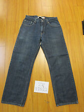 Used 559 relaxed straight levis repaired jean tag 32x30 meas 30x28 zip13822
