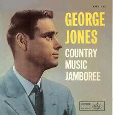 10 inch 25 CM  George Jones Country Music Jamboree -  Orange Wax Reisssue Sealed