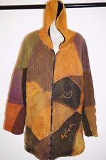Cotton Geometric Regular Size Coats & Jackets for Women