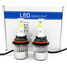 9004 HB1 LED Headlight Kit Hi/Lo Beam 1020W 153000LM Car Light Bulbs 6000K White