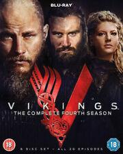 Vikings Complete Season 4 Blu-ray 2017 DVD Region 2