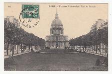 *** Paris - L'Avenue de Breteuil et l'Hôtel des Invalides *** 1908 - CPA 0730