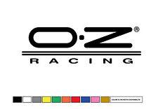 ADESIVO AUTO MOTO - OZ RACING TUNING  DECAL 15X5 sconto quantità