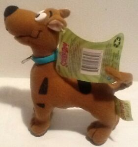 """Vintage Cartoon Network Scooby Doo Super Poseable 6"""" Dog Plush New W/ Tags 1998"""
