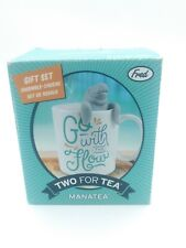 Fred & Friends Tea for Two Infuser and Mug Gift Set Manatea