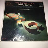 """PERRY COMO The Songs I Love RCA Vinyl 12"""" LP 33 Vocal Pop Album EX Stereo 1963"""