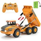 RC Truck Working Dump Truck RC Professional hauler With Rechargeable Battery 120
