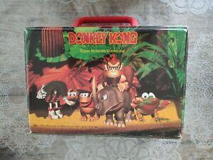 Lunch box casing case gamecase game jeu valise boîte super nintendo donkey kong
