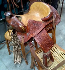 Vintage Small Horse or Pony Saddle Pre 1970's