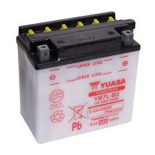 Batterie Moto Yuasa YB7L-B2 12v 8.4Ah 75A 135X75X133MM ACIDE OFFERT