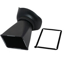 "V2 2.8X 3"" 3:2 LCD Viewfinder Eyecup for Canon 550D 6D 5D3 T2i 5D Mark III D90"