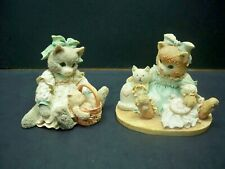 Enesco Calico Kittens Your a Friend Forever Friendship is Sewn Stitch by Stitch