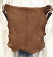 Whiskey Buckskin Leather Hide for Native Crafts Clothing Pipe Flute Bags Laces