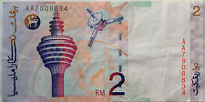 RM2 Ahmad Don side sign First Prefix Note AA 7808834