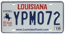 Véritable Plaque D'Immatriculation Etat de LOUISIANE - USA - License Plate
