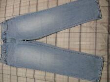 Ann Taylor Loft Jeans High Waist BoyFriend 30 10 Relaxed Ankle Crop Fit c1 NICE~