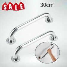 2Pcs Stainless Steel Grab Bar Bathroom Safety Handicap Shower Tub Handle Support