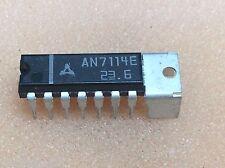 1 pc. AN7114E  Matsushita Panasonic Audio Amplifire  DIP14  NOS