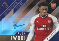 2017-18 Topps Premier League Gold Certified Autograph Base Regular Version -Pick