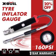 X-BULL Tyre Inflator Gauge Deflator Gun 160PSI High Flow Heavy Auto Car Tire