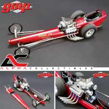 "GMP 18891 1:18 Tommy Ivo década de 1960 Dragster Bikini Beach National Hot Rod Association coche ""en stock"""