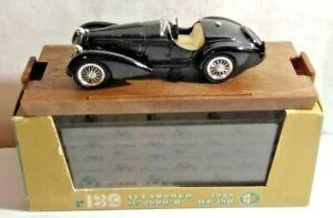 BRUMM 1:43 SCALE 1938 ALFA ROMEO 8C 2900B HP180 - BLACK - R139 - BOXED