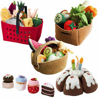 IKEA DUKTIG Children's Soft Pretend Toy Food - Kitchen Set Kids Washable Brand