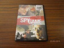 "Kauf DVD "" Spy Game "", D/E - mit Robert Redford + Brad Pitt - TOP Zstd. /S12"