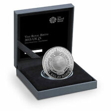 2015 United Kingdom The Royal Birth 2015 £5 Silver Proof Coin with box certicate