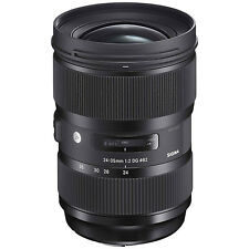 Sigma Fixed/Prime Camera Lenses with Bundle Listing