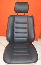 1x MERCEDES W124 Sportline Sitz E500 Reparaturleder Einstiegsflanke schwarz NEU