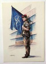 Cartolina NATO - Il Dispositivo Di Difesa Della NATO è Fondato..
