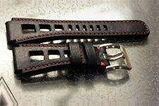22mm handmade padded RALLY strap compatible with SAMSUNG WATCHES and others