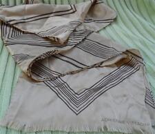 Vintage ADRIENNE VITTADINI Designer Silk Oblong Scarf