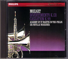 Neville Marriner: Mozart Divertimento k.131 Cassazione k.99 PHILIPS 1987 PDO CD