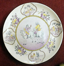 Decorative European Art Pottery Platters