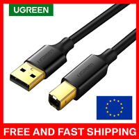 UGREEN USB Printer Cable USB 2.0 Type A Male to Type B Male Printer Scanner LUX