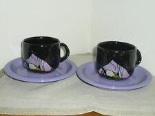 !!! Mandarin stoneware 3 Gänse große Kaffeetasse 2tlg Becher  !!!!!!