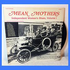 VARIOUS: Mean Mothers Independent Women's Blues, Vol. 1 LP r&b jazz race music
